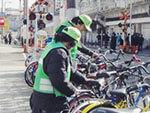 就労創造センターせふぃろと 放置自転車啓発業務