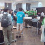 WordCamp Kansai 2016 スタジオの様子