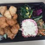 管理者の福田さんの「チキン南蛮弁当」を食して