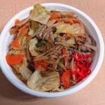 N.Kさんの野菜炒め丼を食べた感想